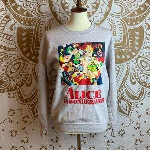 Disney Grey Sweater Top
